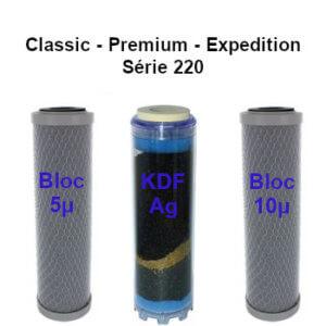 Cartouches charbon 240 B2 classic premium expedition