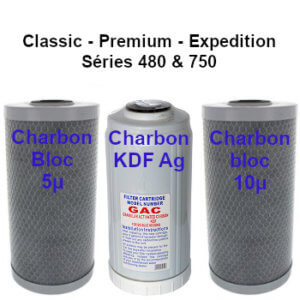 Cartouches charbon B2 classic premium expedition