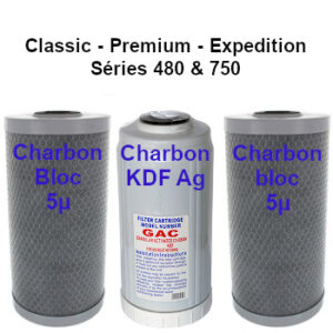 Cartouches charbon B2 classic premium expedition