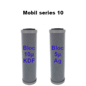 Cartouches charbon bloc 10 Mobil